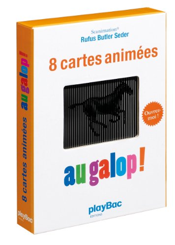 9782809602845: 8 cartes animées Au galop !