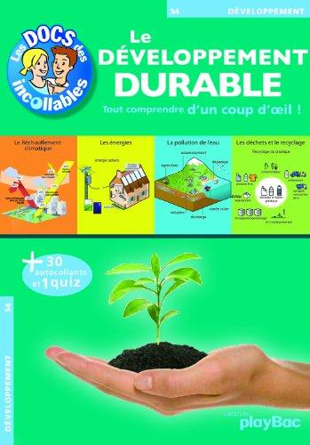 9782809602982: Les Docs DES Incollables: Le Developpemtn Durable (French Edition)