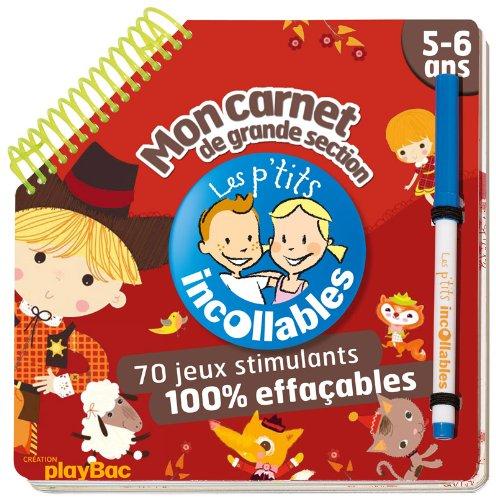 9782809603330: Les Incollables: Mon Carnet De Grande Section (French Edition)