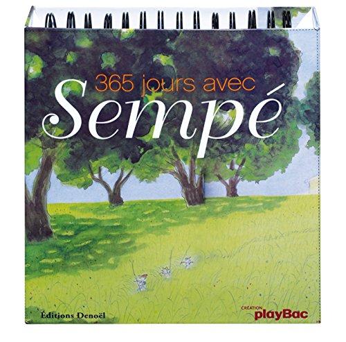 9782809604023: Calendrier - 365 jours avec Sempé (P.BAC 365 CHEV.)