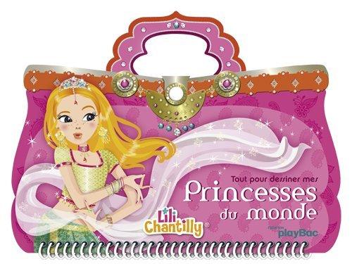 9782809648133: Tout pour dessiner mes princesses du monde