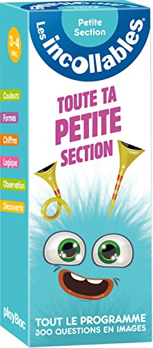 9782809650686: Incollables - Toute ma petite section (P.BAC INCOLL.GC)