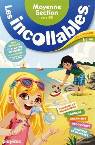 9782809650808: Les Incollables: Cahier De Vacances/Moyenne Section