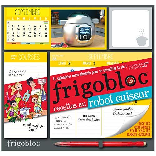 9782809665710: Frigobloc Robot-Cuiseur 2020 - Calendrier d'organisation familiale (de septembre 2019 à décembre 2020)