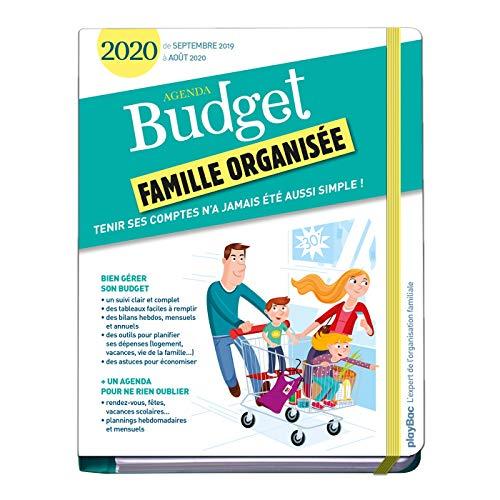 9782809665789: Agenda du budget 2020 (de septembre 2019 à août 2020)