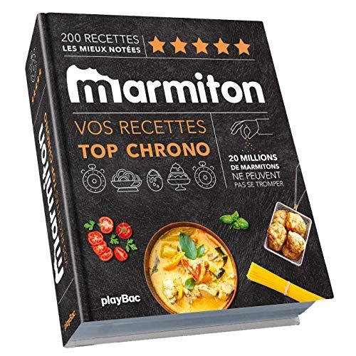 9782809668698: Top chrono ! Les recettes les plus rapides de Marmiton