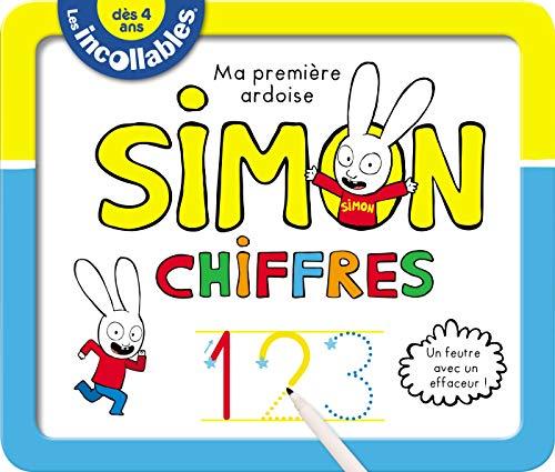 9782809669756: Les Incollables - Ardoises effacables Simon - Chiffres