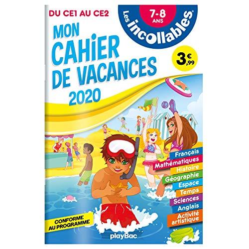 9782809670868: Les incollables - Cahier de vacances 2020 - Du CE1 au CE2