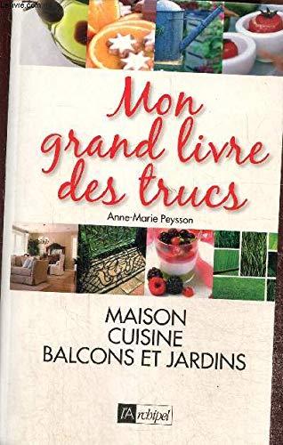 9782809801606: Mon Grand Livre Des Trucs