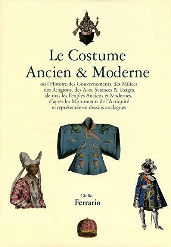 9782809903645: Le costume ancien & moderne