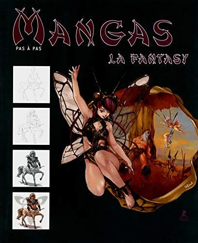 9782809907001: les manga fantasy dessiner pas a pas