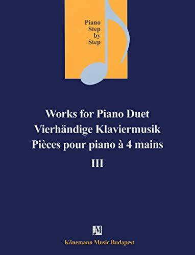 9782809911466: Partition - Pièces pour piano à 4 mains III