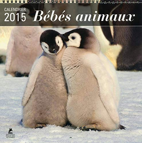 9782809912111: Calendrier B�b�s animaux 2015