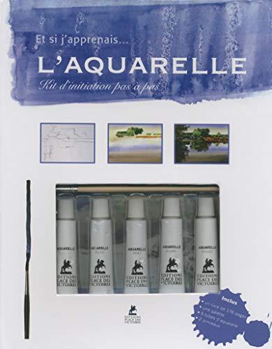 9782809912586: Coffret Aquarelle - et si j'apprenais