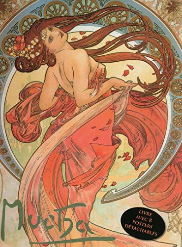 9782809912685: Mucha - Livre avec 8 posters d�tachables - Art nouveau