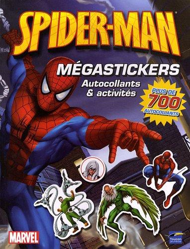 9782810002634: Spider-man M�gastickers : Autocollants et activit�s