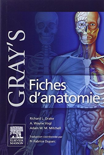 Gray's Fiches D'anatomie / Gray's Anatomy Sheets (French Edition) (2810101779) by Richard L. Drake; A. Wayne, Ph.D. Vogl; Adam W. M. Mitchell