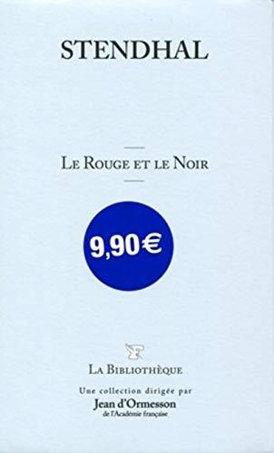 9782810501236: Le rouge et le noir (La Bibliothèque)