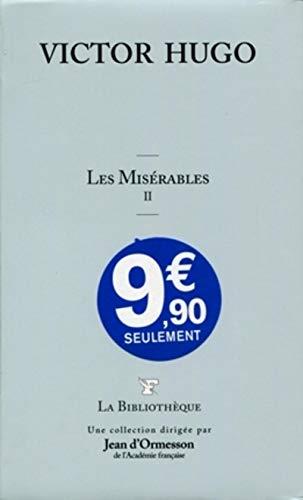 9782810501274: Les miserables II (La Bibliothèque)