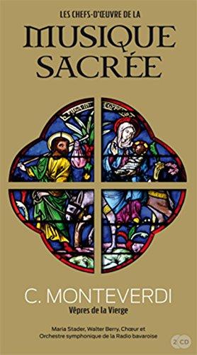 9782810505920: C. Monteverdi, Vêpres de la vierge, Volume 19 : Maria Stader, Walter Berry, choeur et orchestre symphonique de la radio bavaroise (2 CD inclus)