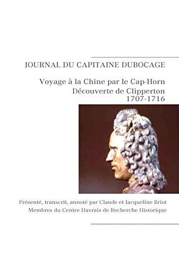 9782810615667: Journal de navigation du capitaine Michel Dubocage (French Edition)