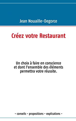 9782810621330: Créez votre restaurant
