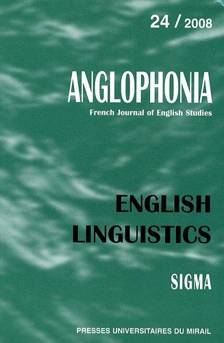 english linguistics (édition 2008): Anne Przewozny-Desriaux