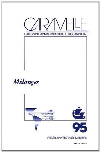 Caravelle No 95 Melanges: Collectif