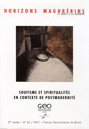 soufisme et spiritualites en contexte de postmodernite: Eric Geoffroy, Mohammed-Habib Samrakandi