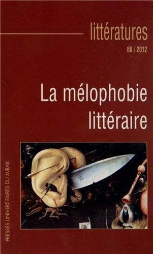 Melophobie litteraire: Sounac Frédéric