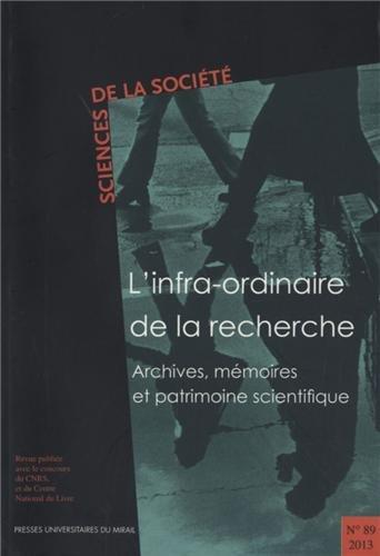 Sciences de la Société, N° 89/2013 : Muriel Lefebvre; Collectif