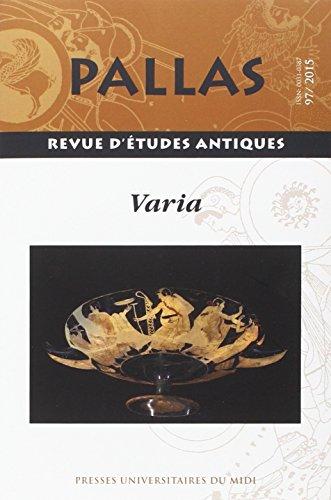 Pallas No 97 Varia: Rico Christian