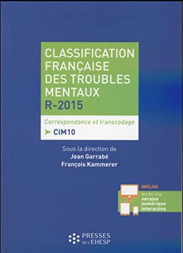 9782810904068: Classification fran�aise des troubles mentaux de l'adulte 2015
