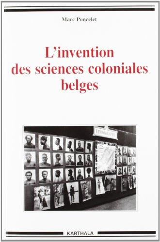 L'invention des sciences coloniales belges: Marc, Poncelet