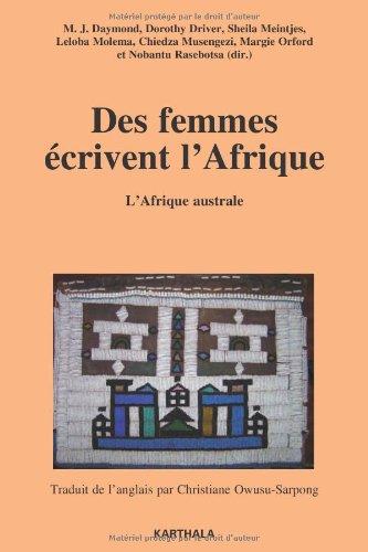 9782811100827: Des femmes �crivent l'Afrique : Tome 2, L'Afrique australe