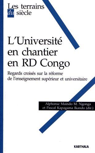 UNIVERSITE EN CHANTIER EN RD CONGO REGA: NGONGA IKANDO COLLEC
