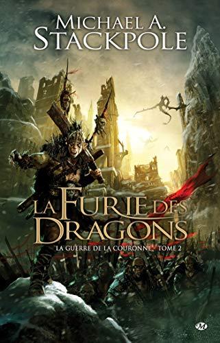 9782811202064: La Guerre de la Couronne, tome 2 : La Furie des dragons