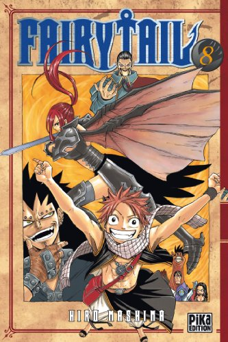 9782811601065: Fairy Tail - Tome 8