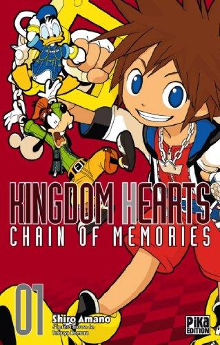 9782811609610: Kingdom Hearts - Chain of Memories Vol.1