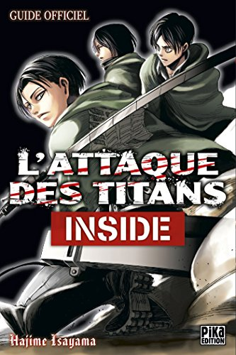 9782811616281: L'Attaque des Titans - Inside: Guide Officiel