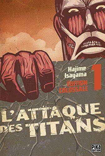 9782811623258: L'Attaque des Titans Edition Colossale T01