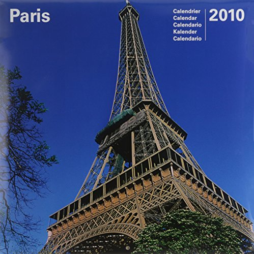 9782811900304: 2010 Paris 30 X 30 Calendar