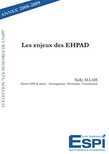9782812122262: Les enjeux des EHPAD