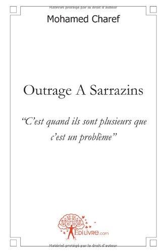 9782812127977: Outrage A Sarrazins