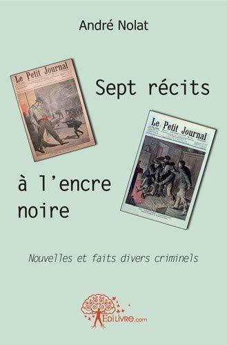 9782812142406: Sept Recits a l'Encre Noire