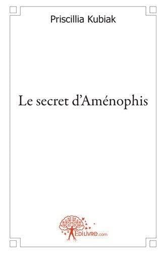 9782812145506: Le secret d'Aménophis