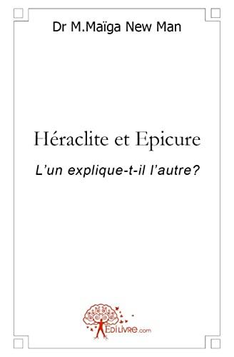 9782812199806: Heraclite et epicure