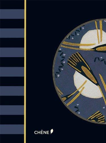 9782812305955: Alibabette - Art Déco Bleu nuit (Carnet Alibabette)