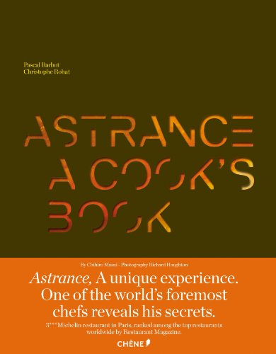 9782812306624: Astrance: A Cook's Book [Deluxe Version in Slipcase]