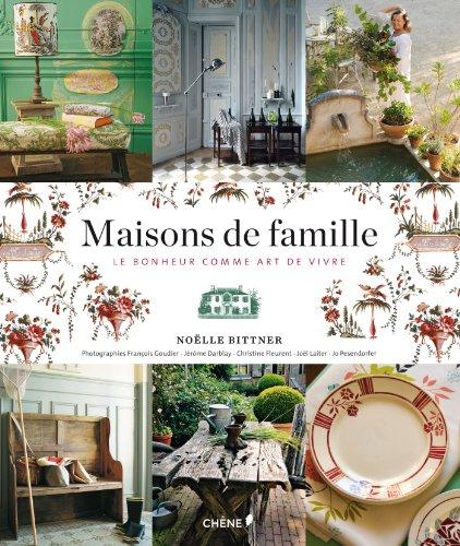 9782812307805: Maisons de famille, le bonheur comme art de vivre